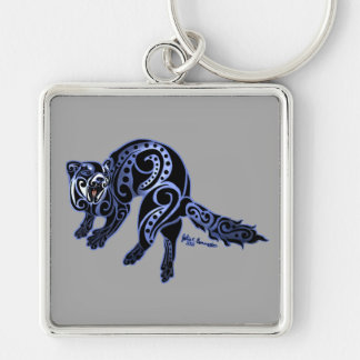 Ferret Trybe: War Dance! Keychain