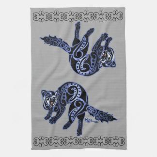 Ferret Trybe: War Dance! Towels