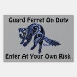 Ferret Trybe: War Dance! Yard Sign