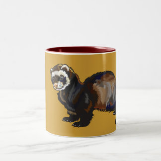 ferret Two-Tone coffee mug