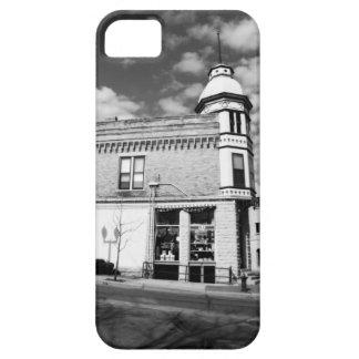 Ferretería céntrica pintoresca blanco y negro iPhone 5 Case-Mate fundas