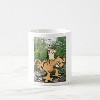 Ferrets and Monkies are Evil Classic White Coffee Mug