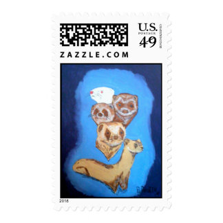 FERRETS GALORE STAMPS