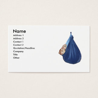 Ferrets In A Sleeping Bag Business Card