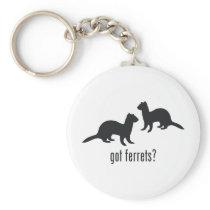 Ferrets Keychain