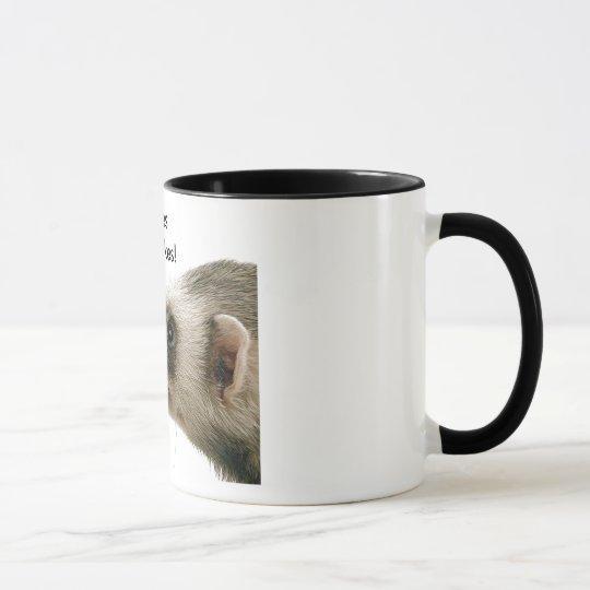 Ferrets Love Cupcakes Mug