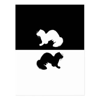 Ferrets Postcard