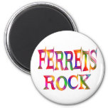 Ferrets Rock Magnet