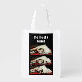 FERRETSDOOK reusable bag Grocery Bag