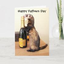 Ferrety Fathers Day Card