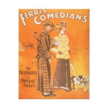 "Ferris Comedians ""Pacemakers at Popular Prices"" Canvas Print"