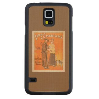 """Ferris Comedians """"Pacemakers at Popular Prices"""" Carved Maple Galaxy S5 Slim Case"""