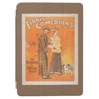 """Ferris Comedians """"Pacemakers at Popular Prices"""" iPad Air Cover"""