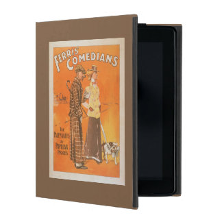 """Ferris Comedians """"Pacemakers at Popular Prices"""" iPad Cover"""