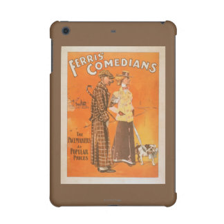 """Ferris Comedians """"Pacemakers at Popular Prices"""" iPad Mini Retina Covers"""