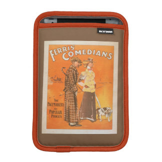 """Ferris Comedians """"Pacemakers at Popular Prices"""" iPad Mini Sleeve"""