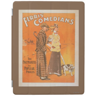 """Ferris Comedians """"Pacemakers at Popular Prices"""" iPad Smart Cover"""