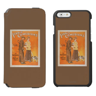 """Ferris Comedians """"Pacemakers at Popular Prices"""" iPhone 6/6s Wallet Case"""