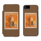 """Ferris Comedians """"Pacemakers at Popular Prices"""" iPhone SE/5/5s Wallet Case"""