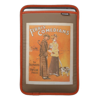 """Ferris Comedians """"Pacemakers at Popular Prices"""" MacBook Air Sleeve"""