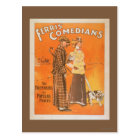 """Ferris Comedians """"Pacemakers at Popular Prices"""" Postcard"""