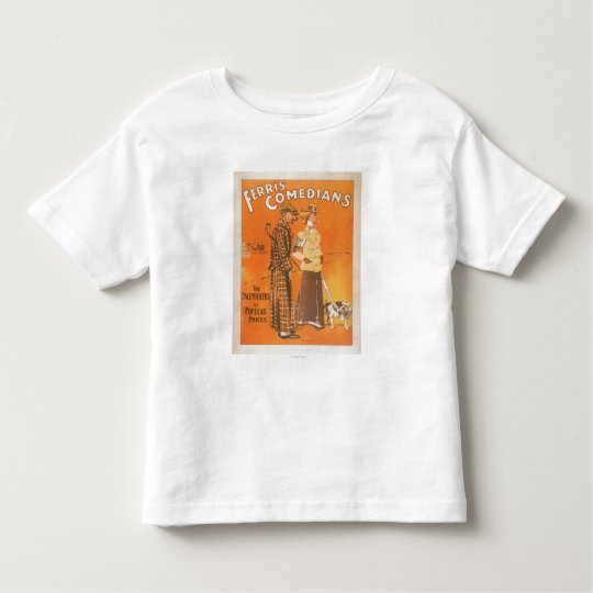"""Ferris Comedians """"Pacemakers at Popular Prices"""" Toddler T-shirt"""