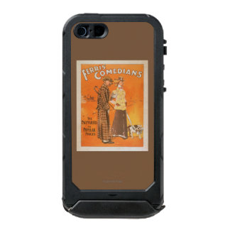 """Ferris Comedians """"Pacemakers at Popular Prices"""" Waterproof Case For iPhone SE/5/5s"""