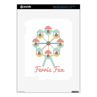 Ferris Fun iPad 3 Skins