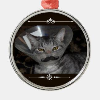 Ferris Mewler moustache ornament