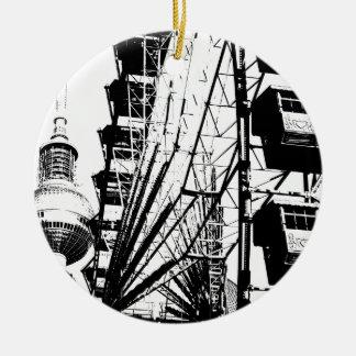 Ferris Wheel_01.01_G with Berlin TV Tower, Alex Ceramic Ornament