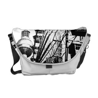 Ferris Wheel_01.01_G with Berlin TV Tower, Alex Courier Bag