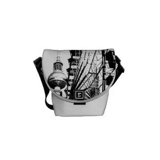 Ferris Wheel_01.01_G with Berlin TV Tower, Alex Messenger Bag