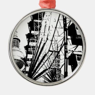 Ferris Wheel_01.01_G with Berlin TV Tower, Alex Metal Ornament