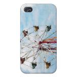 Ferris Wheel Against Blue Sky iPhone 4/4S Cover