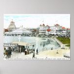 Ferris Wheel, Asbury Park, NJ Vintage Posters