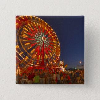 Ferris wheel at dusk at the Northwest Montana Button