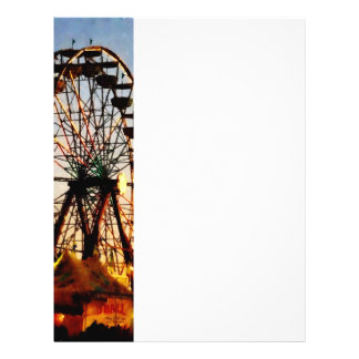 Ferris Wheel at Night Flyer