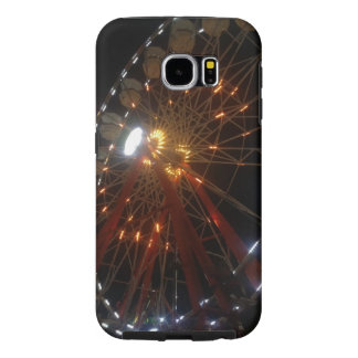 Ferris Wheel at Night Samsung Galaxy S6 Case