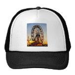 Ferris Wheel at Night Trucker Hat