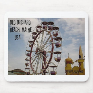 Ferris Wheel at Palace Playland Old Orchard Beach Mouse Pad