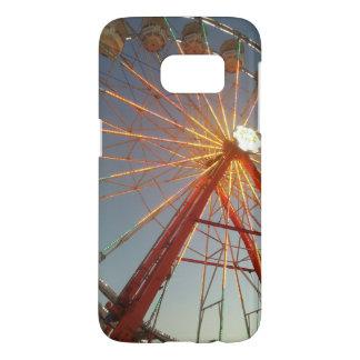 Ferris Wheel at Sunset Samsung Galaxy S7 Case