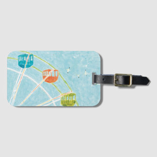 Ferris wheel bag tag
