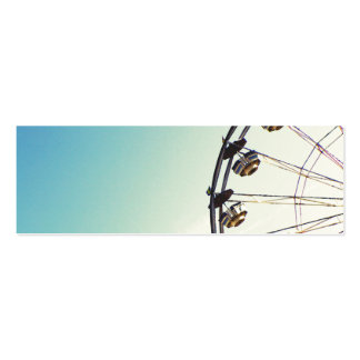 Ferris Wheel Business Card Template