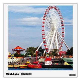 Ferris Wheel by Navy Pier Wall Sticker