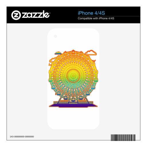 Ferris_Wheel Calcomanía Para iPhone 4
