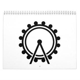 Ferris wheel calendar