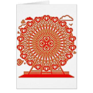 Ferris_Wheel Greeting Card