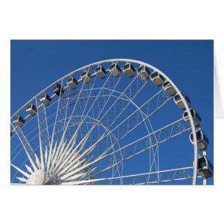 Ferris Wheel Cars Card