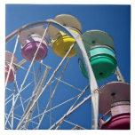 Ferris wheel ceramic tile