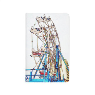 Ferris Wheel-Chalk Outline by Shirley Taylor Journal